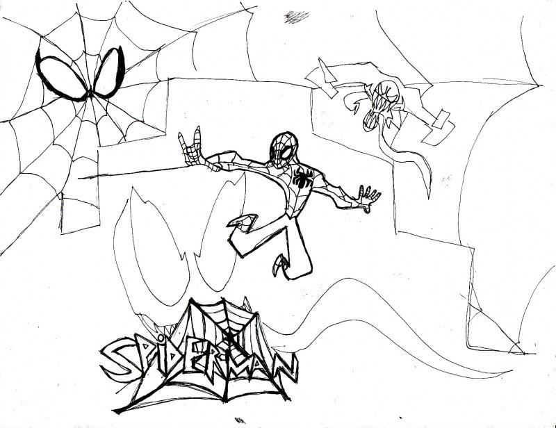 Spiderman 3 Drawings Spiderman 3 Drawings800 x 616