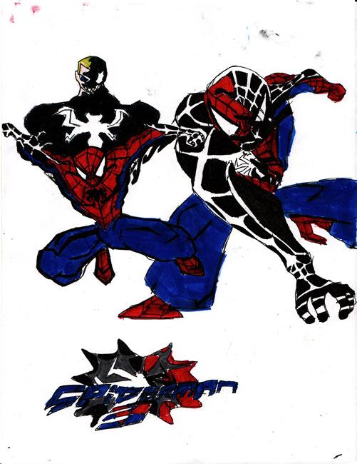 Spiderman 3 Drawings in Drawings Spider-man